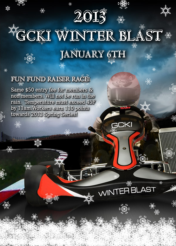 2013 GCKI Winter Blast Flyer