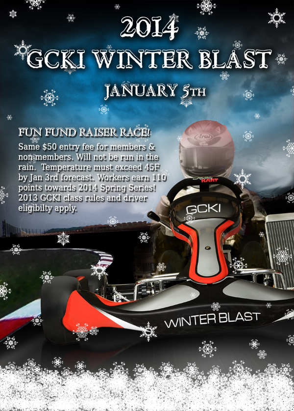 2014 GCKI Winter Blast flyer