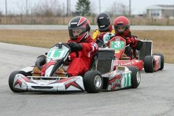 Kart racing at Gulf Coast karters