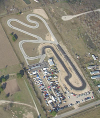 Click to enlarge Gulf Coast Kartway track map