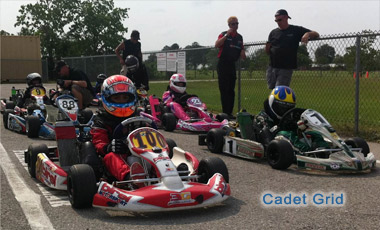 Cadet Grid On Raceday