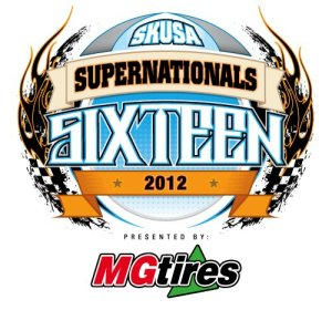 SKUSA Supernationals XVI logo